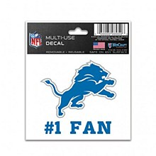 Detroit Lions Decal - Perfect Cut 4''x4''