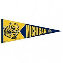University of Michigan Pennant College Vault Premium 12'' x 30''