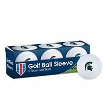 Michigan State University Golf Balls - 3 pc sleeve