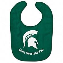 Michigan State University Baby Bib Little Spartan Fan