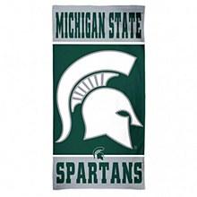 "Michigan State University Towel - Spartans Fiber Beach  30"" x 60"""