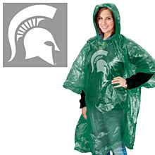 Michigan State University Rain Poncho
