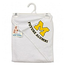 University of Michigan Baby Hooded Towel