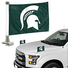 Michigan State University Car Flag - Team Ambassador Flag 4'' x 6''