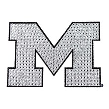 University of Michigan Emblem Bling
