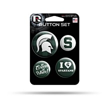 Michigan State University Tem Button Set