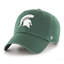 Michigan State University Hat - Clean up Spartan Logo Dark Green