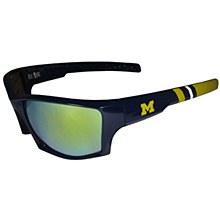 University of Michigan Wolverines Edge Wrap Sunglasses