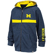 Mich Winnipeg Full Zip Navy XL