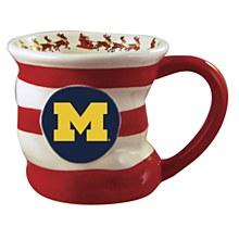 Michigan Wolverines Holiday Stocking Mug