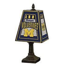 Univesity of Michigan 14in Art glass Lamp
