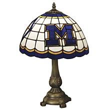 University of Michigan Tiffany Table Lamp
