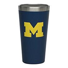 Michigan Wolverines 16 oz. Matte Finish Pint Cup