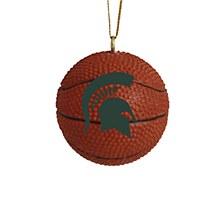 Michigan State University 3pk Basketball Ornament