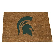 Michigan State University Colored Logo Door Mat