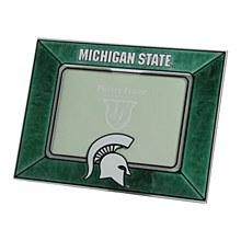 Michigan State Spartans Horizontal Art Glass Frame