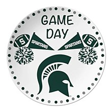 Michigan State Spartans Game Day Plate