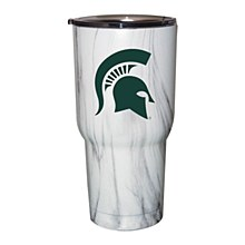 Michigan State Spartans 30oz. Marble Tumbler with Lid