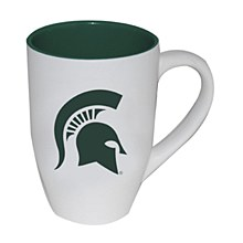 Michigan State University Mug 20oz Two Tone White Matte