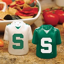 Michigan State Spartans Jersey Salt & Pepper Shakers