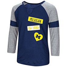 Mich Girls All You Need T Navy