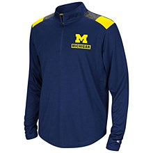 University of Michigan Wolverines 99 Yards Quarter-Zip Pullover