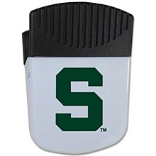 Michigan State Chip Clip Magnet With Bottle Opener