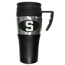 Michigan State University Mug - Steel Travel Mug with Handle