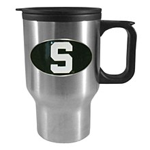 Michigan State. Spartans Sculpted Travel Mug, 14 oz