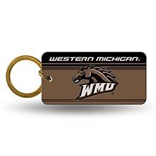 Western Michigan University Keychain Cystal View