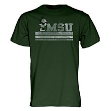 Michigan State University Mickey Mouse Vintage Basic Tee