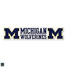 University of Michigan Decal Dizzlers Wolverin 2''
