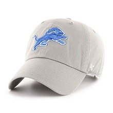 Detroit Lions Clean Up Blue Raz 47 Brand Adjustable Hat