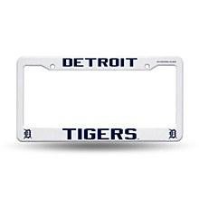 Detroit Tigers License Frame Plastic