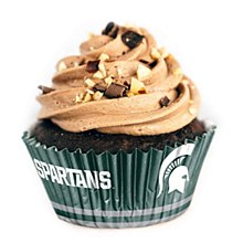 Michigan State Spartans Cupcake Liners - 36 Pack