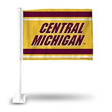 Central Michigan University Car Flag