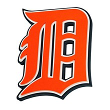 Detroit Tigers 1 inch Thick 3D Foam Wall Sign