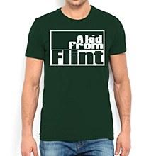 Flint Kid Campus Tee Green SM