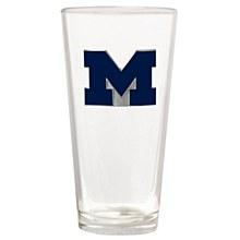 University of Michigan Glass - Wolverines The Blast 22oz. Pint Glass