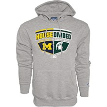 House Divided Hoodie Sweatshirt Heat Small