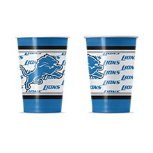 Detroit Lions Disposable Paper Cup 20 pack