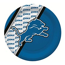 Detroit Lions Disposable Paper Plate, Pack of 20