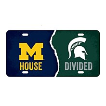 Housedivided License Plate