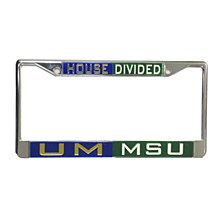 Housedivided License Plate Frame