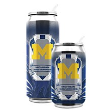 University of Michigan Stainless Steel Thermocan 11 oz