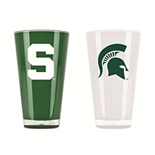 Michigan State University Tumbler Insulated  20oz 2 Pack