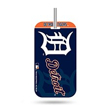 Detroit Tigers Crystal View Luggage Tag
