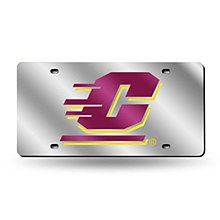 Central Michigan University License Plate Laser Tag