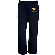 University of Michigan Pickerel Sweatpant Navy Blue Size Small