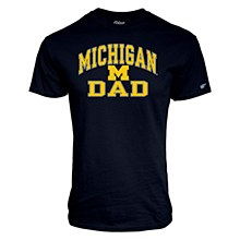 University of Michigan Dad Tamrac Tee Men's Medium